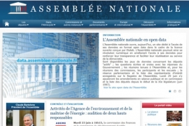 Ouverture du site Open Data de l'Assemblée nationale